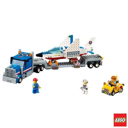 60079 - LEGO® City Space Port Transportador de Avião a Jato de Treino, Não se aplica, A partir de 05 anos, 448, 03 meses, Lego