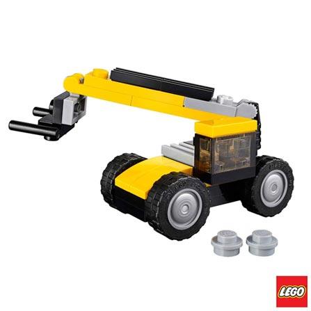 31041 - LEGO Creator - Veiculos de Construcao, Não se aplica, A partir de 06 anos, 64, 03 meses, Lego