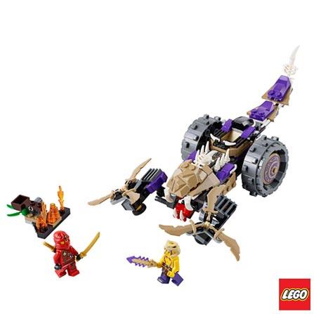 70745 - LEGO® Ninjago - Carro de Ataque de Anacondrai, Não se aplica, A partir de 07 anos, 219, 03 meses, Lego