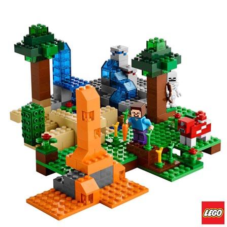 21116 - LEGO® Minecraft Creative Adventure - Caixa Criativa, Não se aplica, A partir de 08 anos, 518, 03 meses, Lego