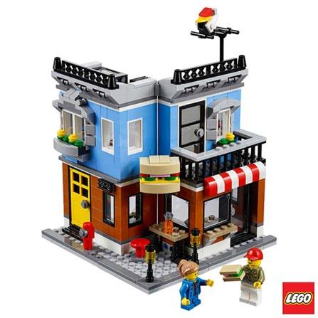 31050 - LEGO Creator - Mercearia de Esquina, Não se aplica, A partir de 08 anos, 467, 03 meses, Lego