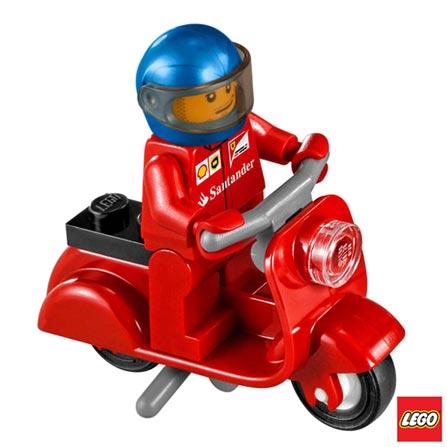 75913 - LEGO Speed Champions - F14 T & Scuderia Ferrari Truck, Não se aplica, A partir de 07 anos, 884, 03 meses, Lego
