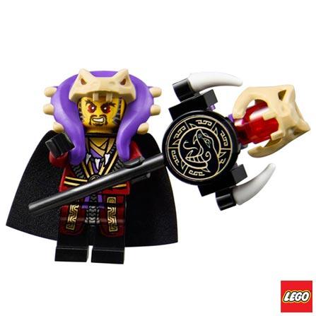 70749 - LEGO Ninjago - Entrada da Serpente, Não se aplica, A partir de 07 anos, 529, 03 meses, Lego