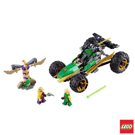 70755 - LEGO Ninjago - Invasor da Selva, Não se aplica, A partir de 07 anos, 188, 03 meses, Lego