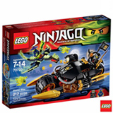 70733 - LEGO Ninjago Motocicleta de Acao