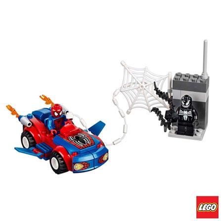 10665 - LEGO Juniors - Ataque do Carro Aranha, Não se aplica, A partir de 04 anos, 55, 03 meses, Lego