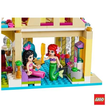 41063 - LEGO Brand Disney Princess - O Palacio da Ariel, Não se aplica, A partir de 06 anos, 379, 03 meses, Lego