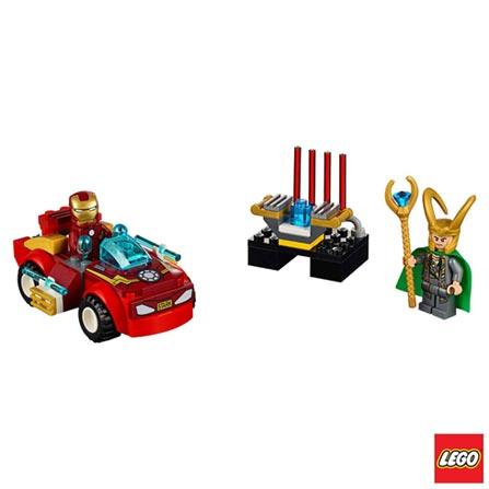 10721 - LEGO Juniors - Homem de Ferro contra Loki, Não se aplica, A partir de 04 anos, 66, 03 meses, Lego