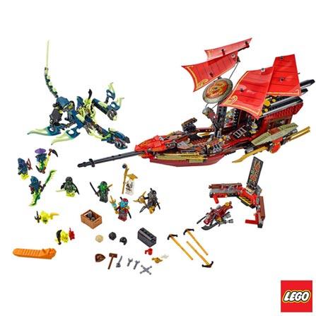 70738 - LEGO Ninjago Voo Final do Barco do Destino, Não se aplica, A partir de 09 anos, 1253, 03 meses, Lego