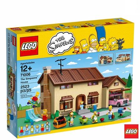 71006 - LEGO The Simpsons - A Casa dos Simpsons, Não se aplica, A partir de 12 anos, 2523, 03 meses, Lego