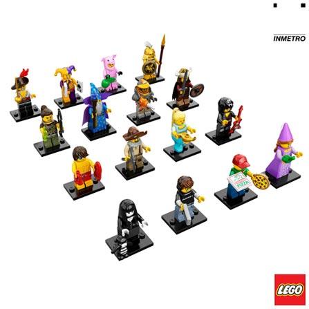 71007 - LEGO Minifigures - Series 12, Não se aplica, A partir de 05 anos, 7, 03 meses, Lego