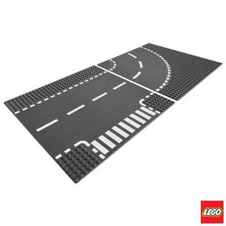 7281 - LEGO City - Entroncamento e Curvas, Não se aplica, A partir de 05 anos, 2, 03 meses, Lego