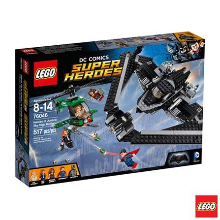 76046 - LEGO Super Heroes - Herois de Justica: Combate no Alto do Ceu, Não se aplica, A partir de 08 anos, 382, 03 meses, Lego
