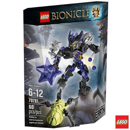 70781 - LEGO Bionicle Protetor da Terra, Não se aplica, A partir de 06 anos, 60, 03 meses, Lego