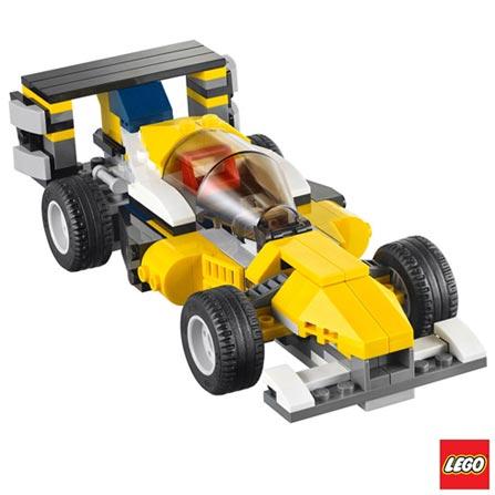 31023 - LEGO Creator - Veiculos Amarelos de Competicao, Não se aplica, A partir de 07 anos, 328, 03 meses, Lego