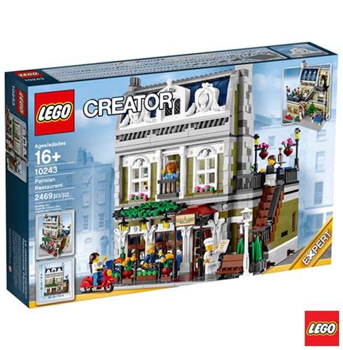 10243 - LEGO Creator Expert - Restaurante Parisiense, Não se aplica, A partir de 16 anos, 2469, 03 meses, Lego