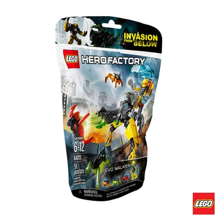, Não se aplica, A partir de 06 anos, 51, 03 meses, Lego