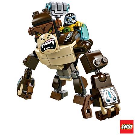 70125 - LEGO Chima - Criatura Lendaria de Gorila, Não se aplica, A partir de 07 anos, 107, 03 meses, Lego