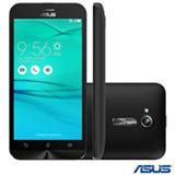 """Zenfone Go Preto Asus, com Tela de 5"""", 3G, 8 GB e Câmera de 8 MP - ZB500KG"""