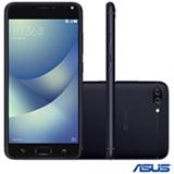 """Zenfone 4 Max Preto Asus, com Tela de 5,5"""", 4G, 16 GB e Câmera Dual de 13+5MP - ZC554"""
