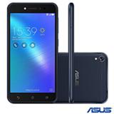"""Zenfone Live Preto Asus, com Tela de 5,0"""", 4G, 16 GB e Câmera Dual de 13MP - ZB501KL"""