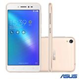 """Zenfone Live Dourado Asus, com Tela de 5,0"""", 4G, 16 GB e Câmera Dual de 13MP - ZB501KL"""