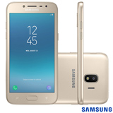 Samsung Galaxy J2 Pro Dourado, com Tela de 5', 4G, 16GB e Câmera de 8MP