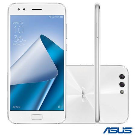 , Bivolt, Bivolt, Branco, Acima de 4'', Sim, 12 meses, Android, Sim, Qualcomm Snapdragon 630, Sim, Sim, Wi-Fi + 4G, 12 MP, Sim, 64 GB, 5.5'', 2, Não, Zenfone 4, Webfones