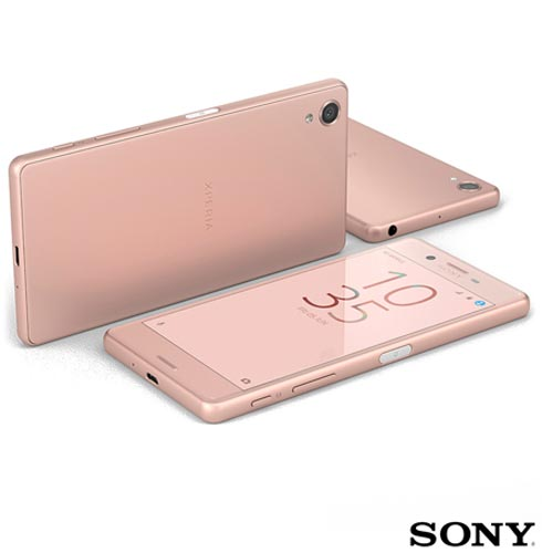 , Rosa, Acima de 4'', 12 meses, Android, Qualcomm Snapdragon 650, Sim, Wi-Fi + 4G, Sim, 23.0 MP, 64 GB, 5'', 2, Não, Xperia X, Sony