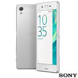 Xperia X Dual Branco Sony com Tela de 5', 4G, 64GB e Câmera de 23 MP
