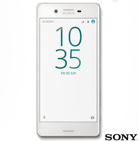 , Branco, Acima de 4'', 12 meses, Android, Qualcomm Snapdragon 650, Sim, Não, Wi-Fi + 4G, Sim, 23.0 MP, 64 GB, 5'', 2, Não, Xperia X, Sony