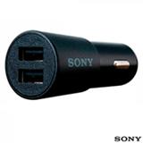 Carregador Veicular USB com 2 saídas Sony - CP-CADM2
