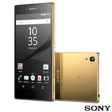 Xperia Z5 Premium Ouro Sony Tela de 5,5' 4G 32GB Câmera de 23MP
