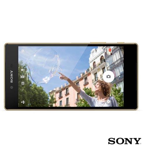 , Dourado, Acima de 4'', 12 meses, Android, Qualcomm Snapdragon 810, Sim, Wi-Fi + 4G, Sim, 23.0 MP, 32 GB, 5.5'', 1, Não, Xperia Z5, Sony