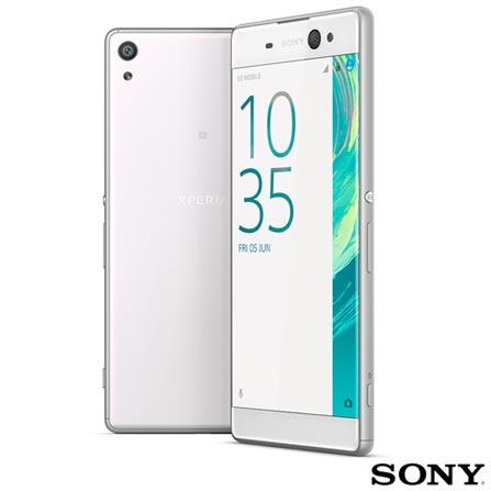 , Branco, Acima de 4'', 12 meses, Android, Octa Core, Sim, Wi-Fi + 4G, Sim, 21.5 MP, 16 GB, 6'', 2, Não, Xperia XA Ultra, Sony