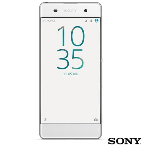 , Branco, Acima de 4'', Sim, 12 meses, Android, Octa Core, Sim, Sim, Wi-Fi + 4G, Sim, 13.0 MP, 16 GB, 5'', 2, Não, Xperia XA, Sony