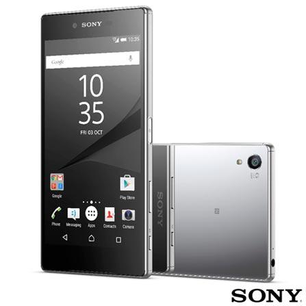 , Cromado, Acima de 4'', 12 meses, Android, Qualcomm Snapdragon 810, Sim, Wi-Fi + 4G, Sim, 23.0 MP, 32 GB, 5.5'', 1, Não, Xperia Z5, Sony