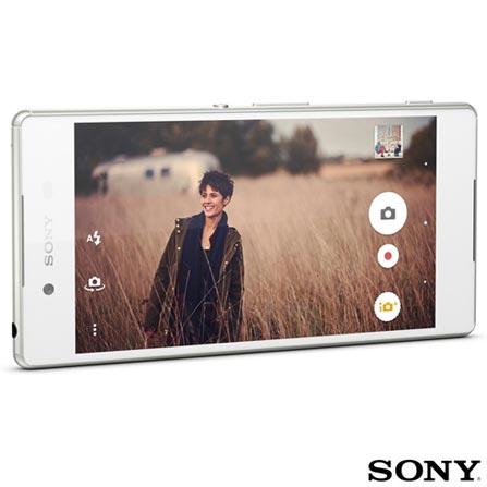 , Branco, Acima de 4'', Sim, 12 meses, Android, Sim, Qualcomm Snapdragon 810, Sim, Sim, Wi-Fi + 4G, Sim, 20.7 MP, 32 GB, 5.2'', 2, Não, Xperia Z3, Sony