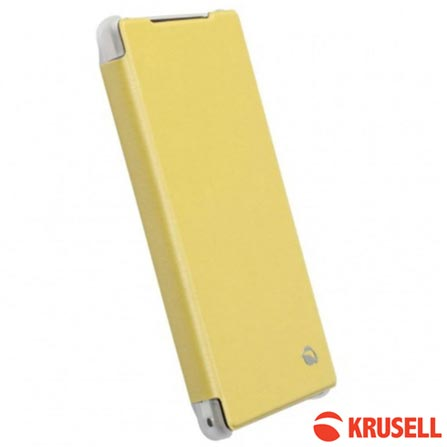 Capa para Xperia Z2 Bolden Amarelo - Sony, Amarelo, 03 meses, Sony