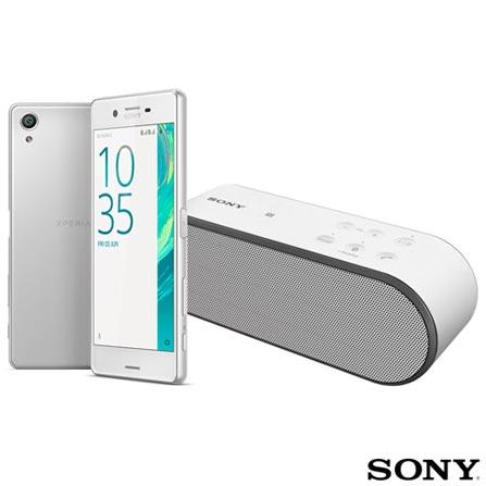 Xperia X Dual Branco Sony com Tela de 5