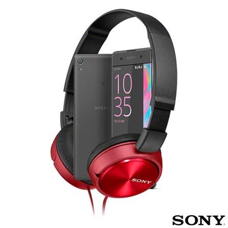 Xperia XA Dual Preto Sony com Tela Curva de 5
