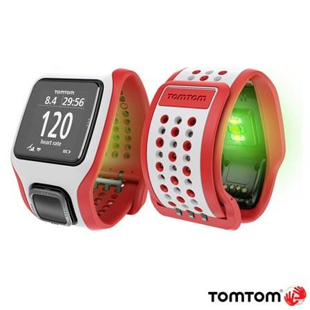 , Branco e Vermelho, 12 meses, Tomtom, Sim, Relógio