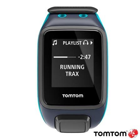 Relogio TomTom Runner 2 Cardio Azul com GPS, Azul, 12 meses, Tomtom, Sim, Relógio