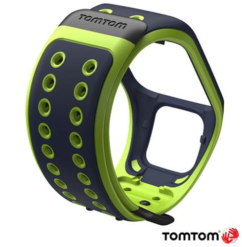 Pulseira TomTom para Runner 2 e Spark Large Azul e Verde, Azul e Verde, 03 meses, Tomtom, Não, Relógio