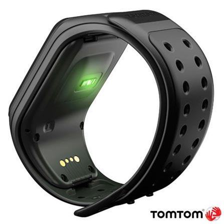 Relógio TomTom Runner 2 Cardio + Music Preto Large com GPS, Preto, 12 meses, Tomtom, Sim, Relógio