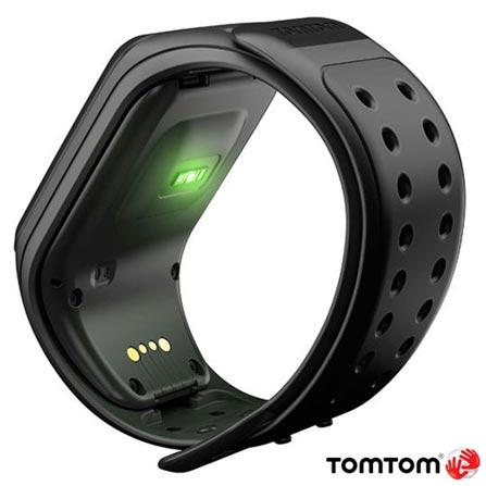 Relogio TomTom Spark Cardio + Music Preto Large com Fone Bluetooth, Preto, 12 meses, Tomtom, Sim, Relógio