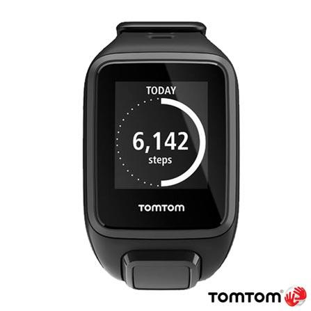 Relogio TomTom Spark Small Preto com GPS, Preto, 12 meses, Tomtom, Sim, Relógio