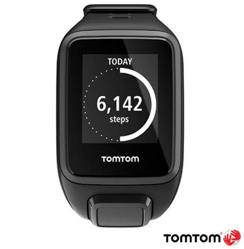 Relogio TomTom Runner 2 Cardio Preto Small com GPS, Preto, 12 meses, Tomtom, Sim, Relógio