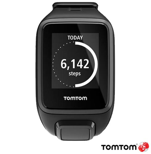 Relogio TomTom Spark Music Preto Small com GPS, Preto, 12 meses, Tomtom, Sim, Relógio