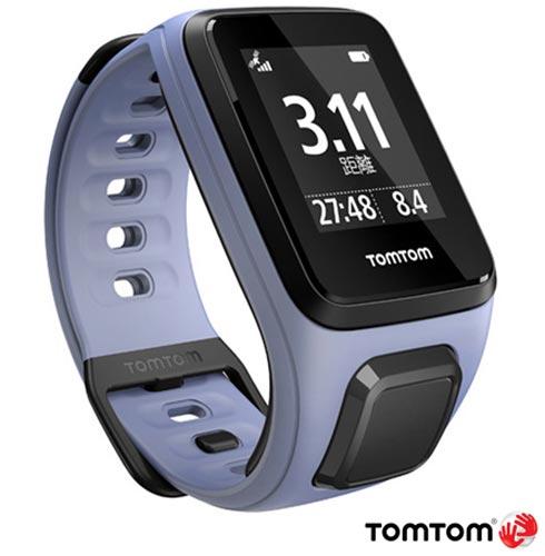 Relogio TomTom Spark Music Roxo Small com GPS, Roxo, 12 meses, Tomtom, Sim, Relógio